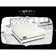Visco Heir ET Memory Foam Plush Mattress - The Bed Boss Visco Heir Euro Top with Bamboo-Infused Memory Foam