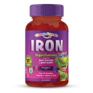 Vitamin Friends - Iron Supplement for Kids (60 Day Supply) Ferrous Fumarate with B-Complex, Vitamin C, Zinc, Biotin - Iron Gummies Support Children Healthy Body Function and Iron L