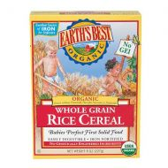 Walgreens Earths Best Organic Brown Rice Cereal