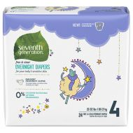 Walgreens Seventh Generation Baby Overnight Diapers Stage 4, 22+ lbs