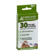 Walgreens Veridian Healthcare Professional Digital Thermometer Probe Covers, Box of 100