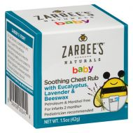 Walgreens ZarBees Naturals Soothing Baby Chest Rub
