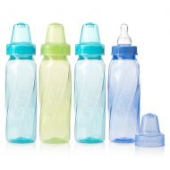 Walgreens Evenflo Classic Tinted Polypropylene Bottles 8 oz Assorted