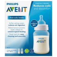 Walgreens Philips Avent Anti-Colic Baby Bottle (SCF40327) Clear