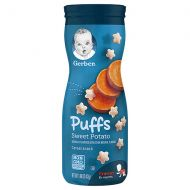 Walgreens Gerber Graduates Puffs Cereal Snack Sweet Potato, Sweet Potato