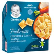 Walgreens Gerber Graduates for Toddlers Pasta Pick Ups Chicken & Carrot Ravioli