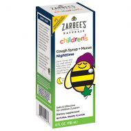Walgreens ZarBees Naturals Childrens Cough Syrup + Mucus Reducer, Nighttime Grape
