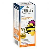 Walgreens ZarBees Naturals Childrens Nighttime Cough Syrup Grape